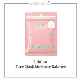 Lululun - Face Mask Balance Moisture or Reguler Type Face Mask