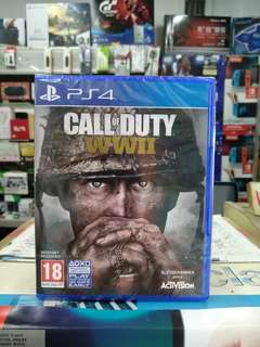 🆕 PS4 Call Of Duty WWII