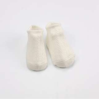 Milky White 3 Pairs (can mix) Hollow Mesh baby's Socks