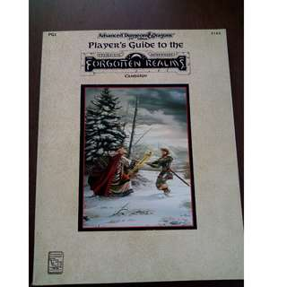 AD&D Player's Guide to the Forgotten Realms Campaign TSR