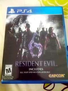 PS4 Game - Resident Evil