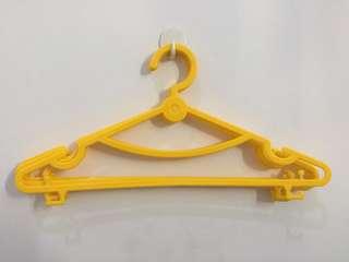 10pcs Hanger dewasa plastik