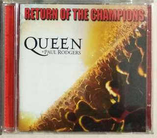 arthcd QUEEN + Paul Rodgers - Return Of The Champions 2CD Live
