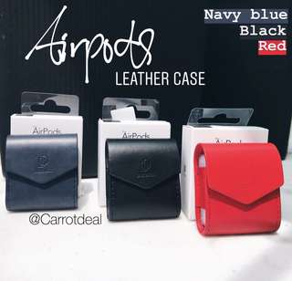 AirPod leather case Stock available!