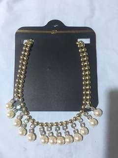(brandnew) pearl necklace