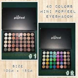 40 colors eyshadow