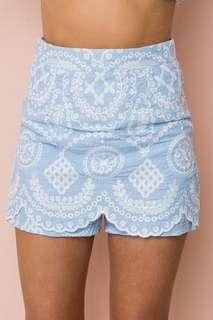 Wonderland shorts size 10