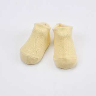 Yellow 3 Pairs (can mix) Hollow Mesh baby's Socks