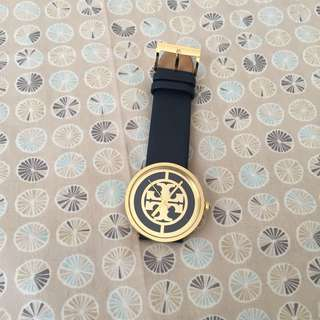 Tory Burch The Reva Leather Watch⌚️