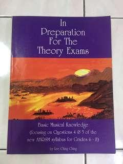 ABRSM Theory exam GRADE 6-8