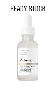 The Ordinary Niacinamide 10%+ Zinc 1%