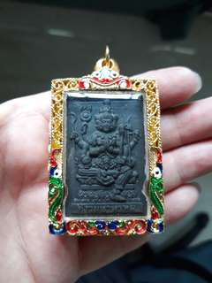 Thai Amulet wat Chin Vararam CK Chamnan Phra Phom Be2560