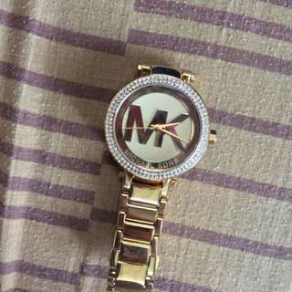 Selling low. MK Watch