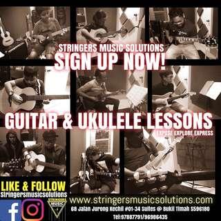 Guitar / Ukulele Lessons