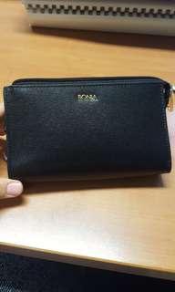 Bonia Black Wallet (leather)