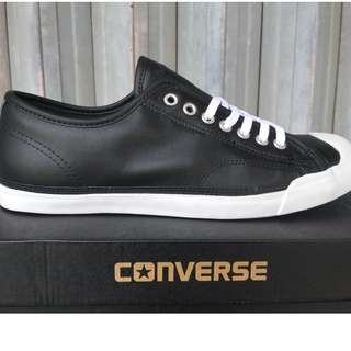 Converse Jack Purcell LP Leather Black White ORIGINAL