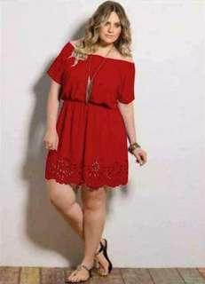 Plus Size Dress 💰400  💫Thick cotton 💫🆓size fits L-XXL *s.l