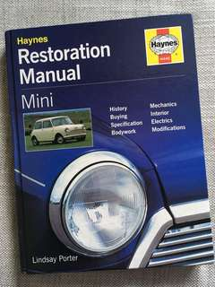 Mini Cooper Restoration book