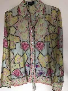 ETRO Milano silk blouse 絲恤衫