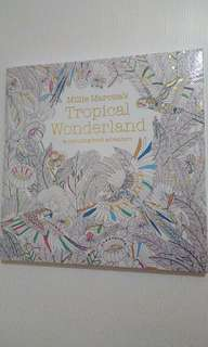 Sealed Millie Marotta's Tropical Wonderland coloring book