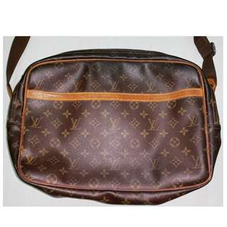 Louis Vuitton Reporter PM Monogram Shoulder Bag (Authentic)