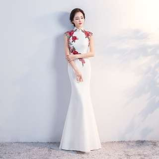 Gown Collection - Classical Noble Mermaid Style Cheongsam Gown