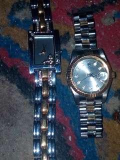 Jam Titan dan Rolex original