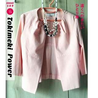 🚚 EU粉色西裝外套