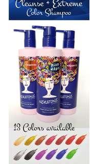 Colour shampoo