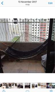 Hammock with Sewn In Mosquitoes Net