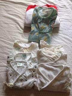 嬰兒服飾八件