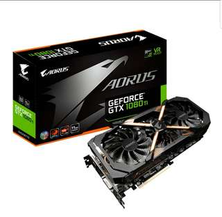 Super mint - Gigabyte GTX1080 Ti Aorus - bought in Jan 2018 only