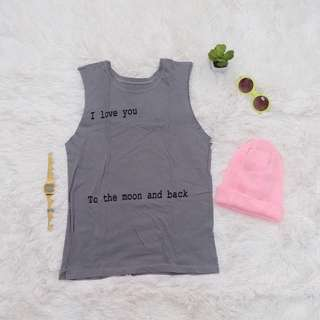 Statement muscle tee
