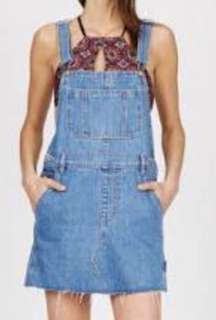 Insight jean denim overall dress
