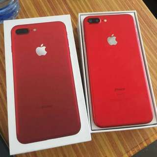 iPhone 7plus 128g red edition FACTORY UNLOCK