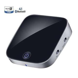 497. Bluetooth Transmitter, 2 In 1 Bluetooth Adapter, Toslink/SPDIF and 3.5mm AUX, apt-X Low Latency, Wireless Bluetooth Transmitter and Receiver for All TV/PC/HiFi Sound System