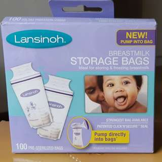 Lansinoh Breastmilk Storage Bag 6oz