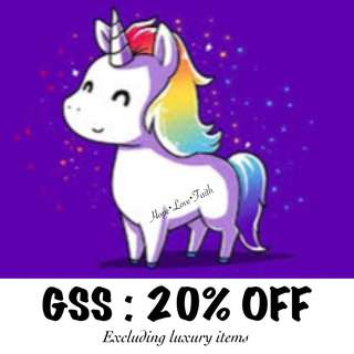 🦄 GSS SALES 🎉🎉🎉