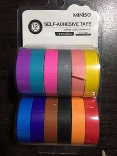 Miniso paper tapes