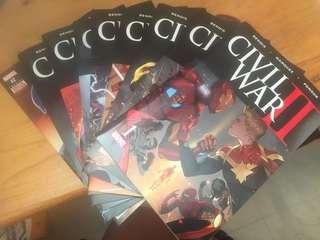 復仇者 內戰2 漫畫 (全齊,共9冊)另送 美國隊長2期,一共11冊漫畫