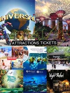 Singapore Attraction Tickets