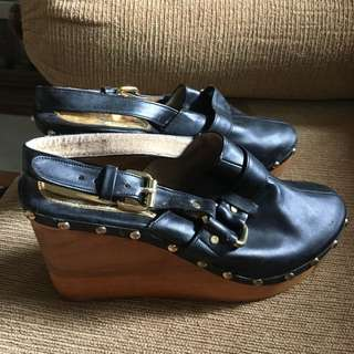 Retail Therapy Clog Wedges