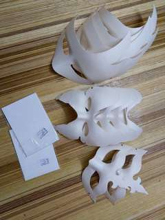 Mask and paper