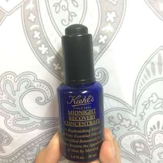 Kiehl's midnight recovery concentrate preloved