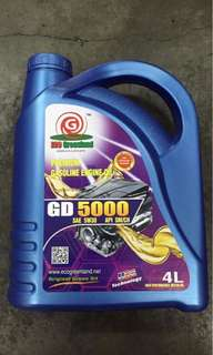 Engine oil api sm/ch semi 5w/30 4litter