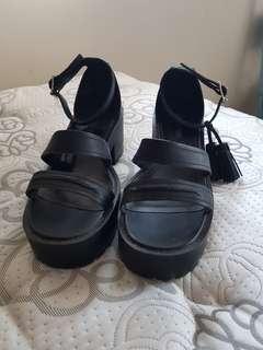 Windsor Smith Black Sandals Size 8