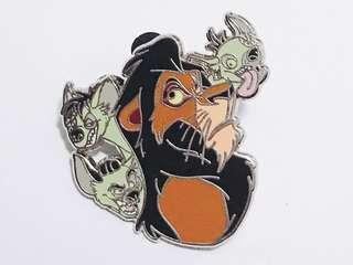 [交換優先] 迪士尼 獅子王 刀疤 pin