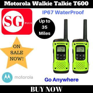 Motorola Walkie Talkie T600 H2O(EXPORT SET)