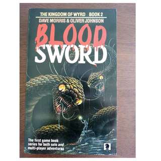 Bloodsword Book 2 The Kingdom of Wyrd Dave Morris Oliver Johnson