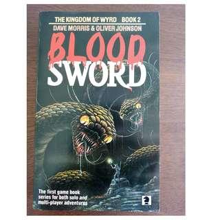 Bloodsword Book 2 The Kingdom of Wyrd Dave Morris Oliver Johnson